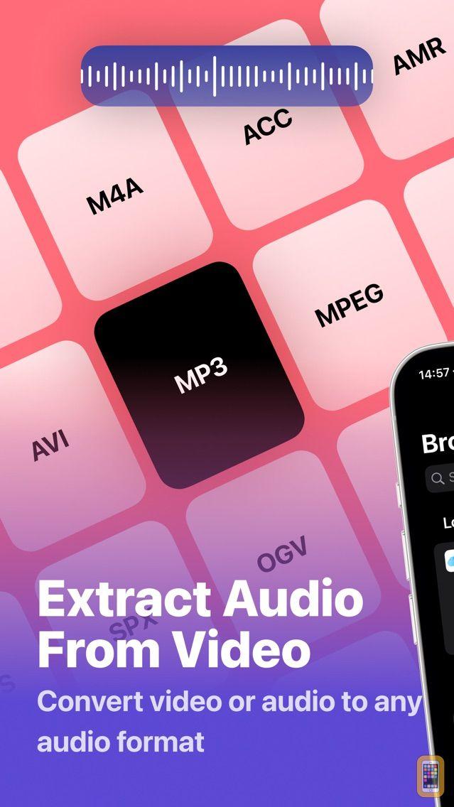 Screenshot - MP3 Converter: Audio converter