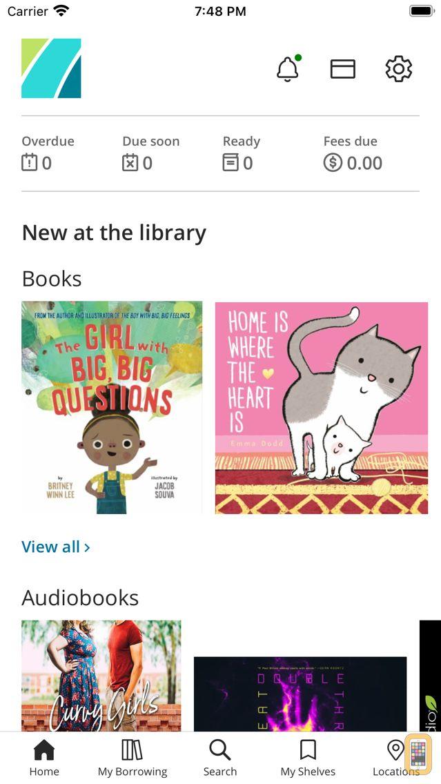 Screenshot - Sno-Isle Libraries