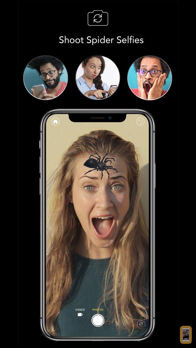 Screenshot - AR Spiders & Co: Scare friends