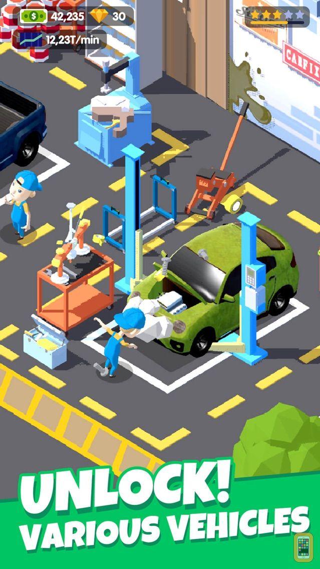 Screenshot - Car Fix Tycoon - Idle Garage