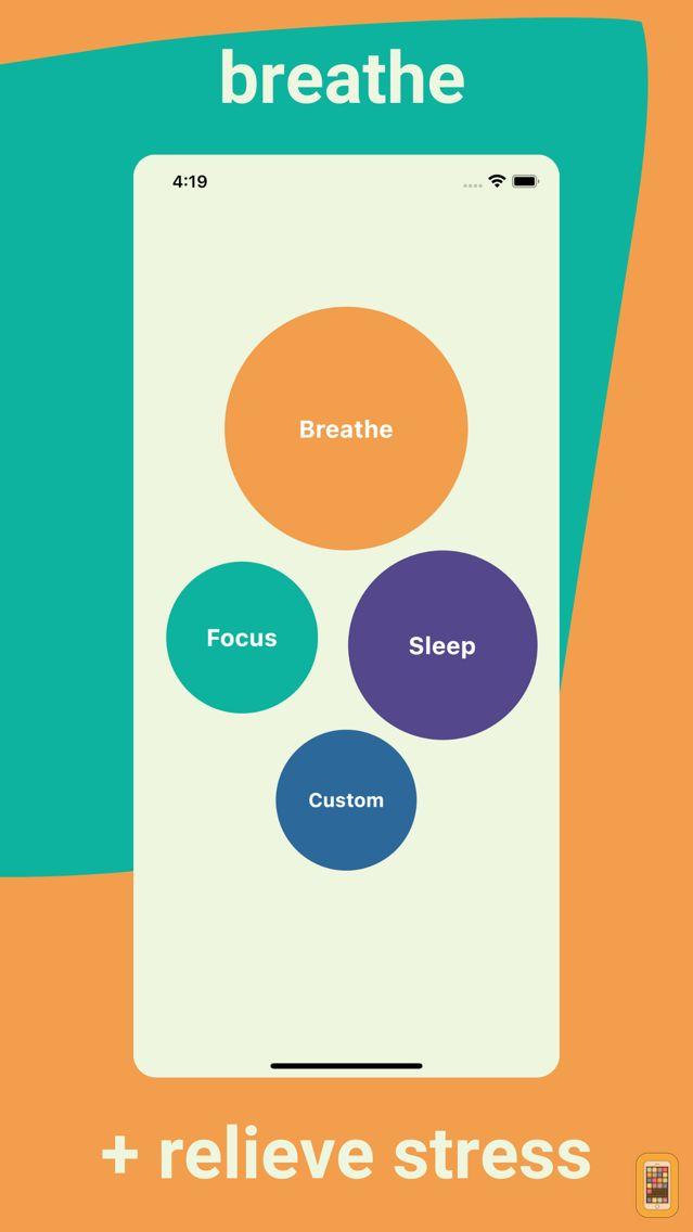 Screenshot - breathe focus sleep