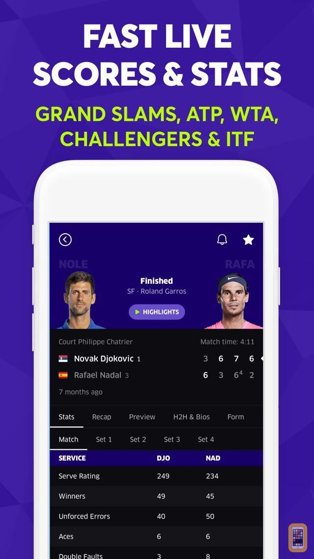 Screenshot - TNNS: Tennis Live Scores