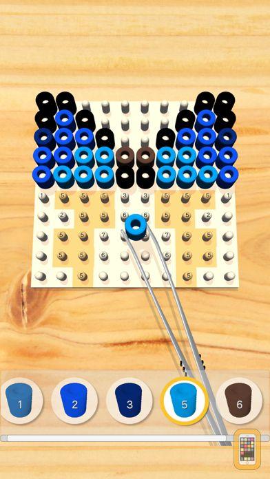 Screenshot - Bead Art - Coloring Puzzle -