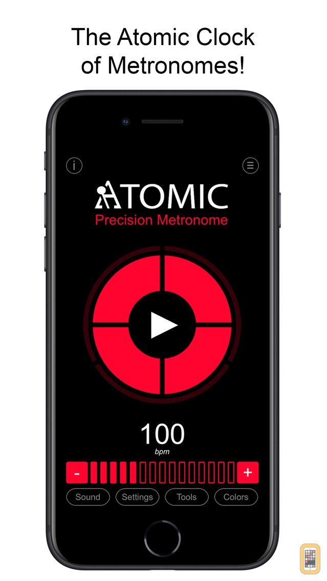 Screenshot - Atomic - Precision Metronome