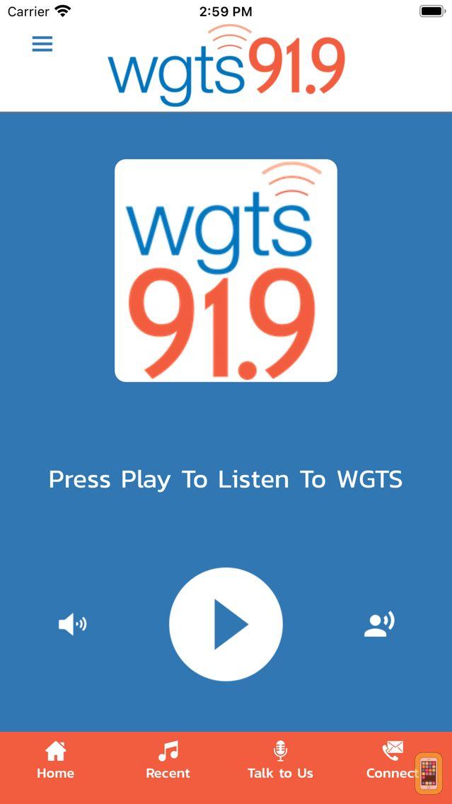 Screenshot - WGTS 91.9