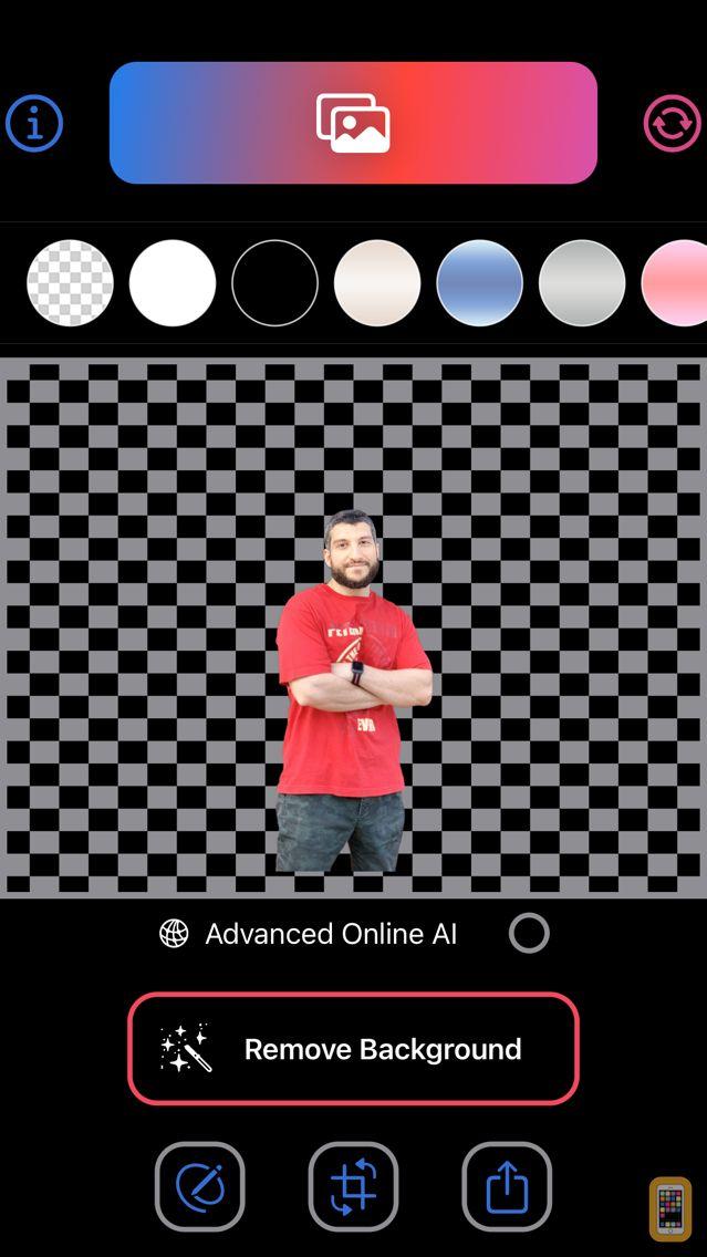 Screenshot - BG Remover AI