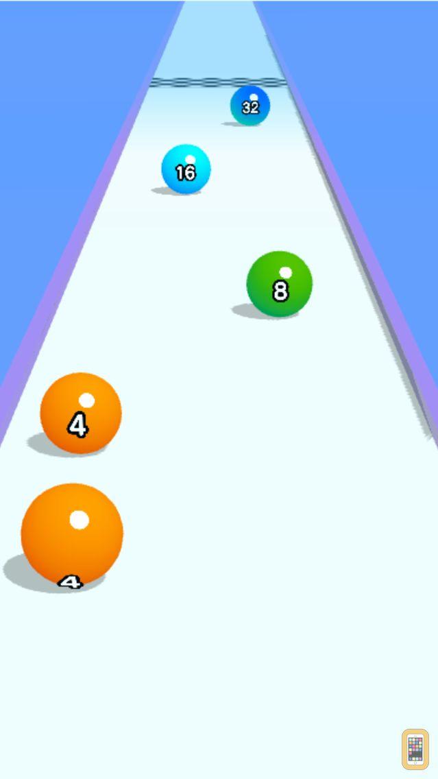 Screenshot - Ball Run 2048