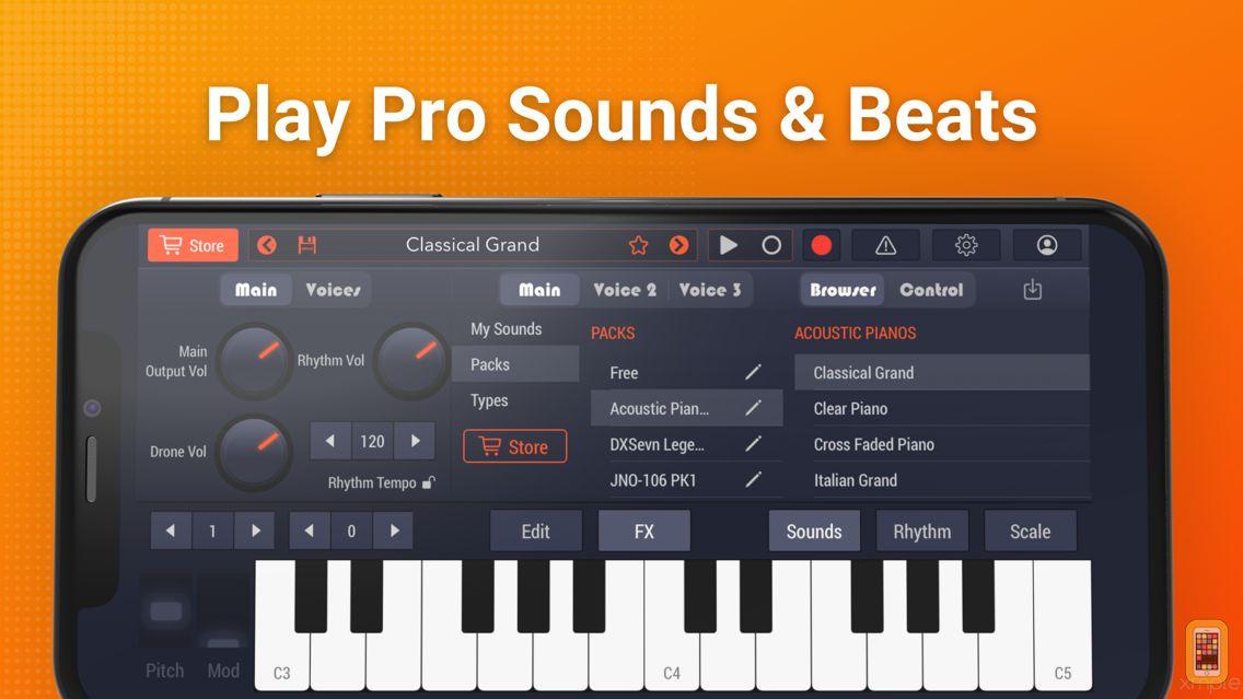 Screenshot - Pro Keys & Drum Machine