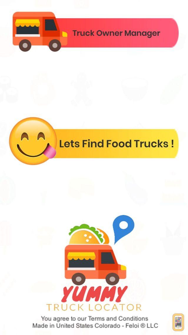 Screenshot - Yummy Truck Locator