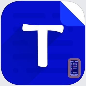 Text Editor - Document Editor by Supagarn Pattananuchart (Universal)