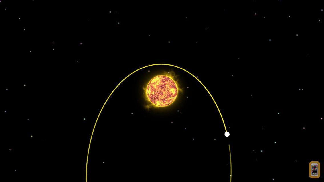 Screenshot - Planet Gravity - Newton's law