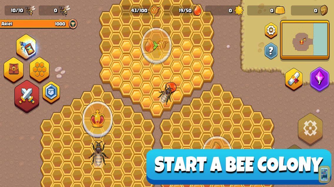 Screenshot - Pocket Bees: Colony Simulator