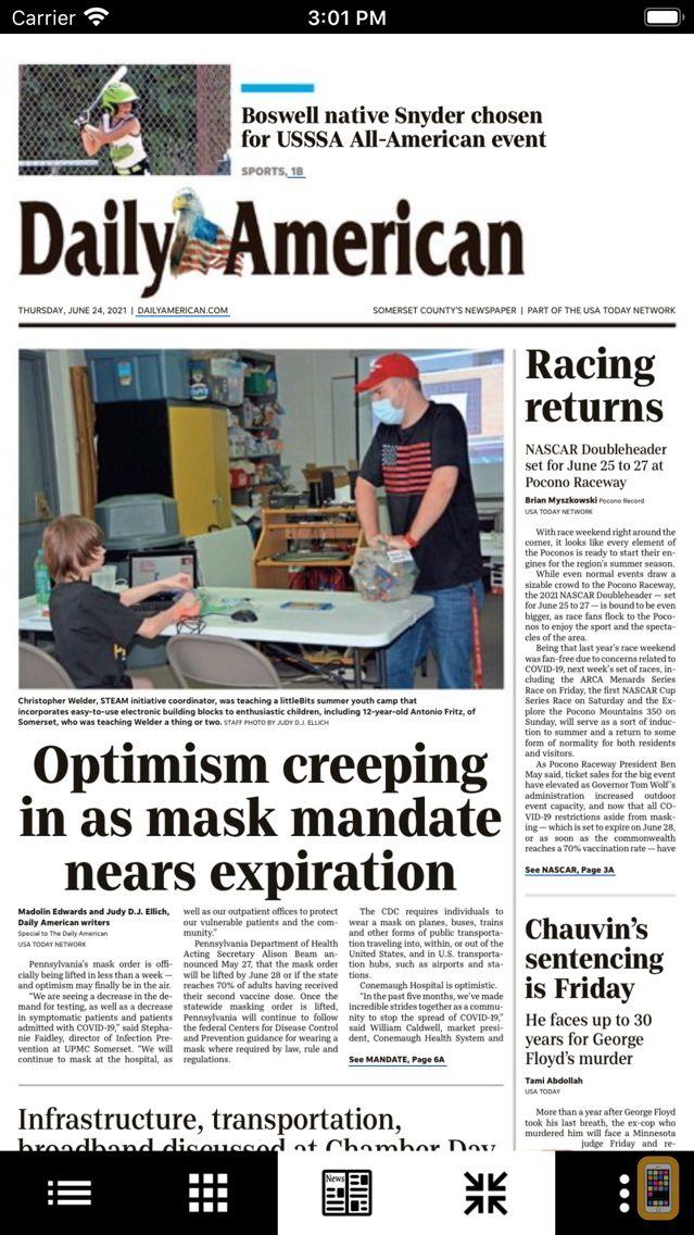 Screenshot - Daily American Print