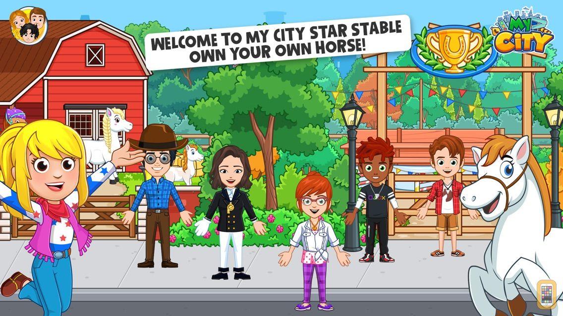 Screenshot - My City: Star Stable