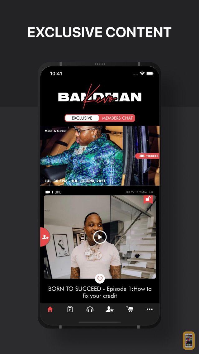 Screenshot - Bandman Kevo - Official App