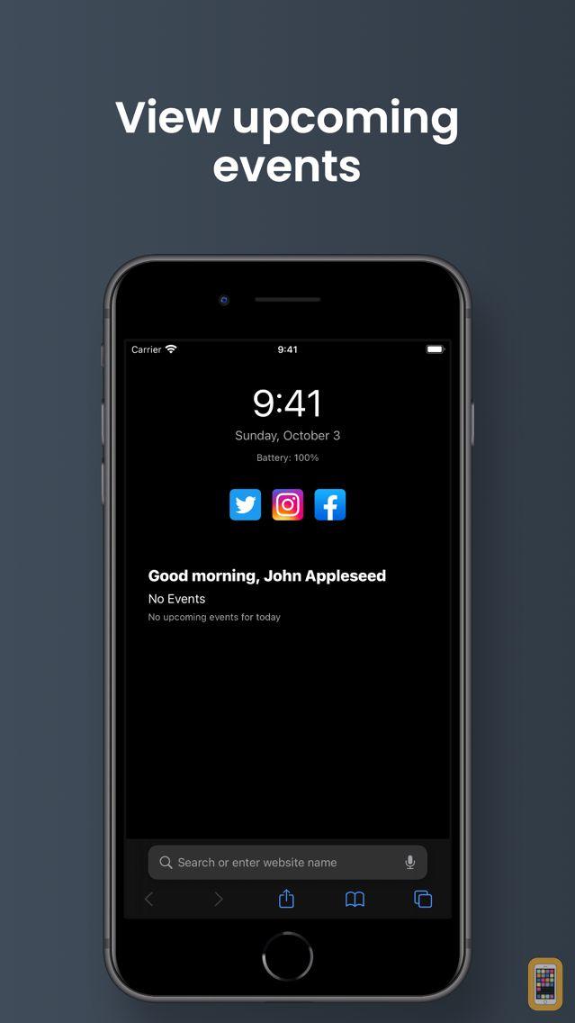 Screenshot - TodayTab: Start Tab for Safari