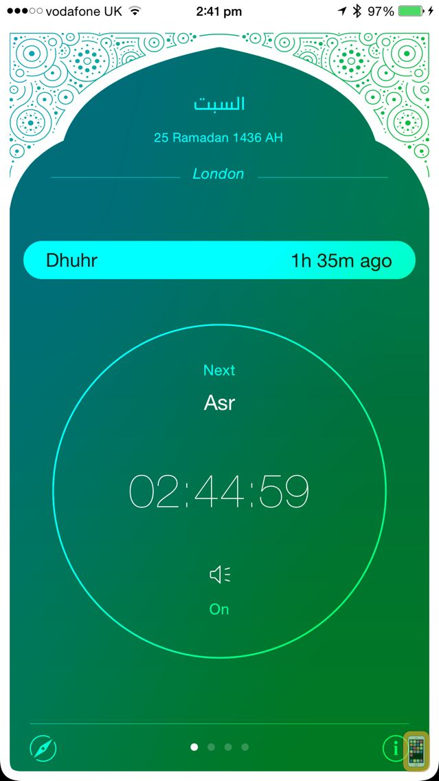 Screenshot - iPray: Prayer Times & Qibla Compass