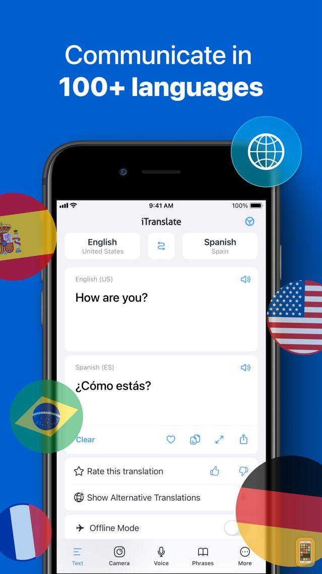 Screenshot - iTranslate Translator