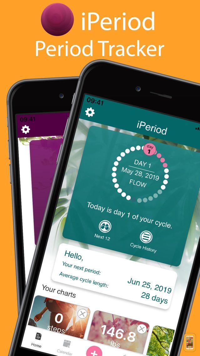 Screenshot - iPeriod Period Tracker +