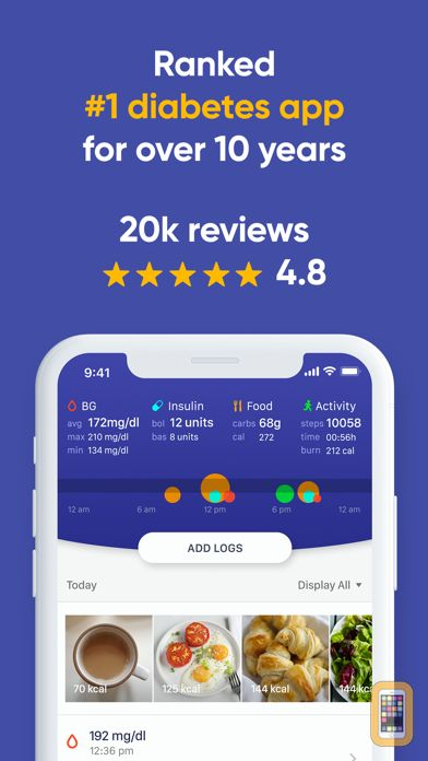 Screenshot - Glucose Buddy Diabetes Tracker