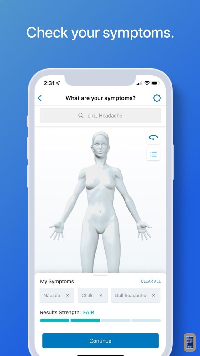 Screenshot - WebMD