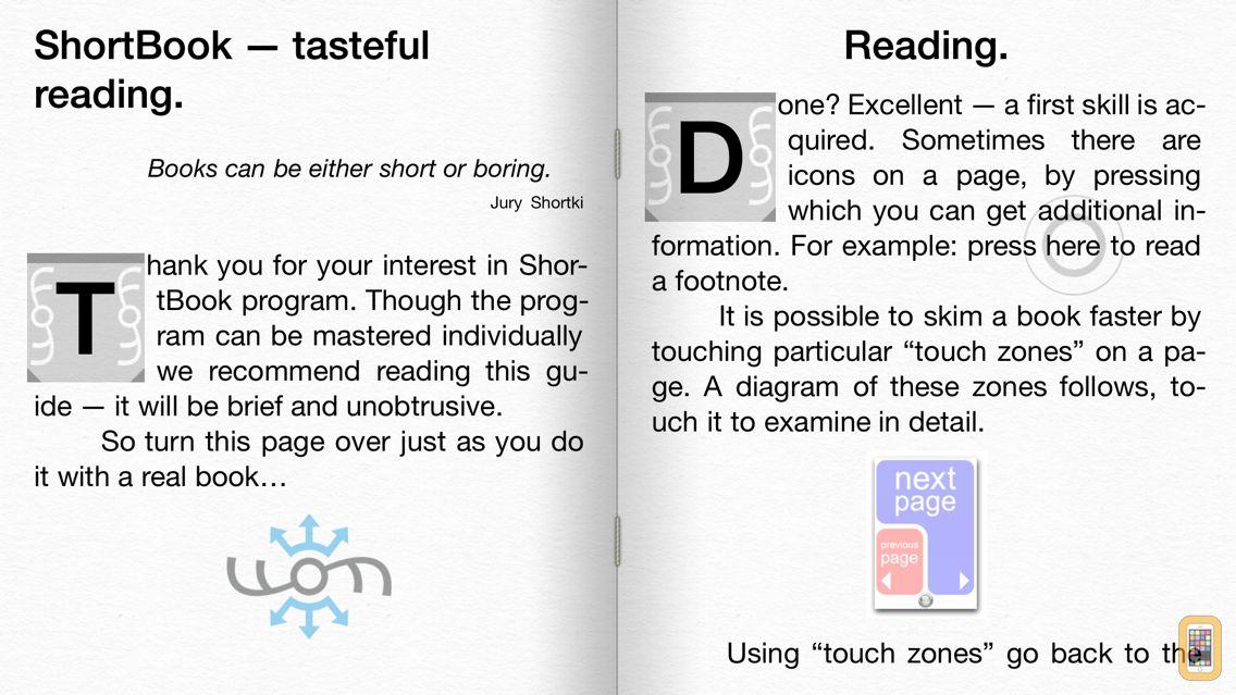 Screenshot - ShortBook