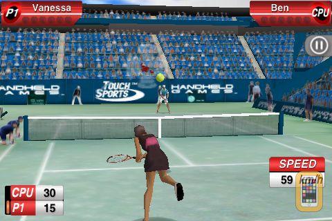 Screenshot - TouchSports™ Tennis