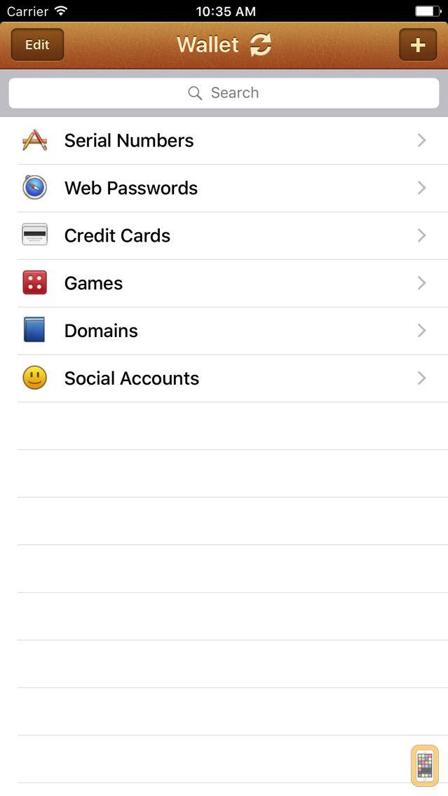 Screenshot - Wallet