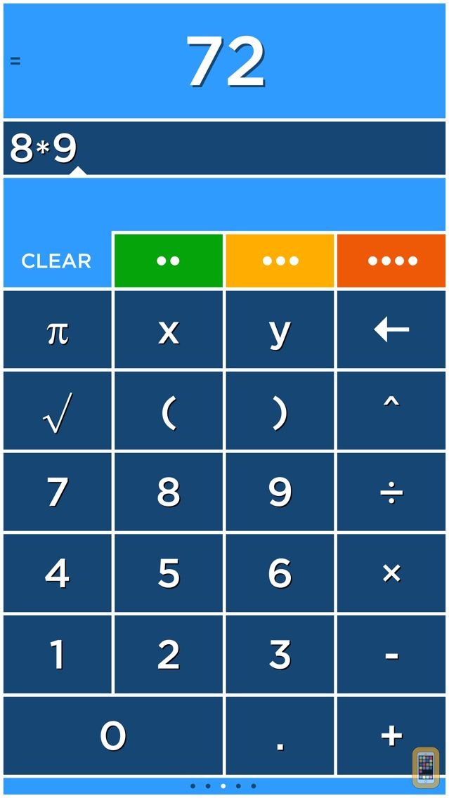 Screenshot - Solve - Graphing Calculator