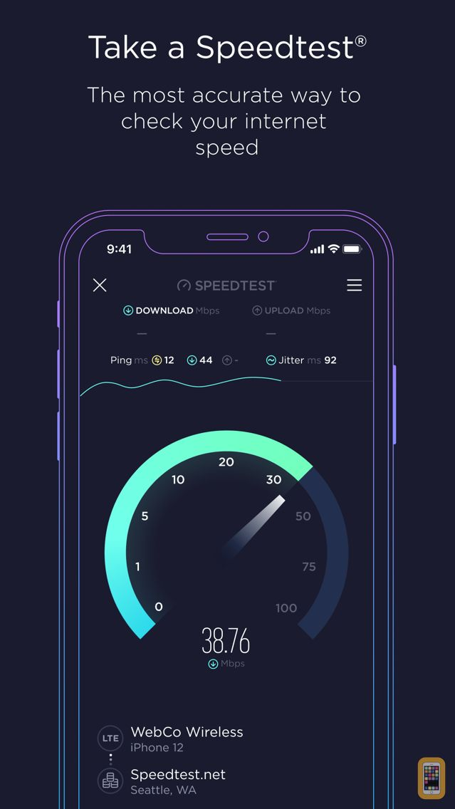 Screenshot - Speedtest by Ookla