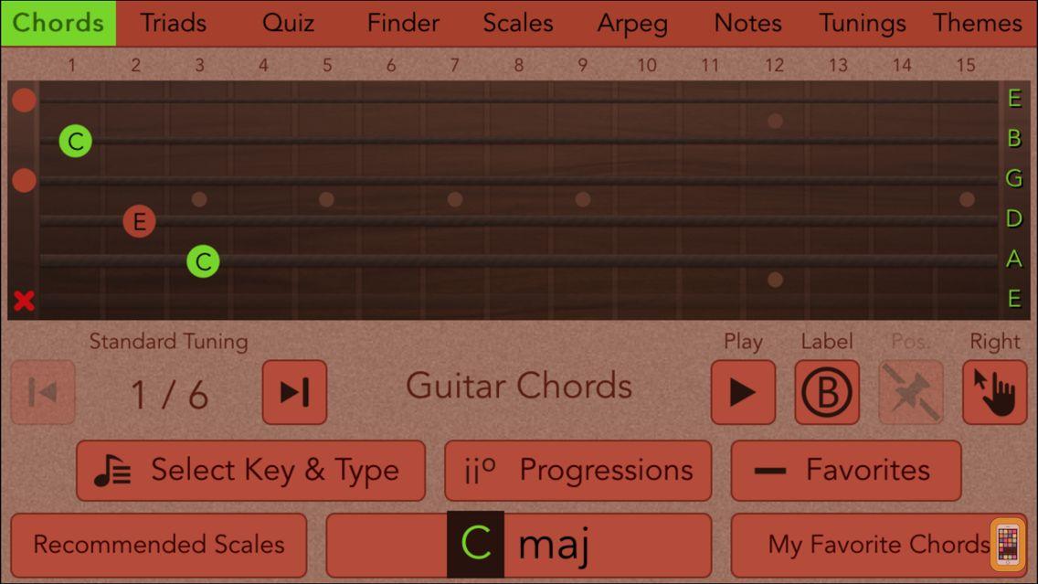 Screenshot - Guitarist's Reference