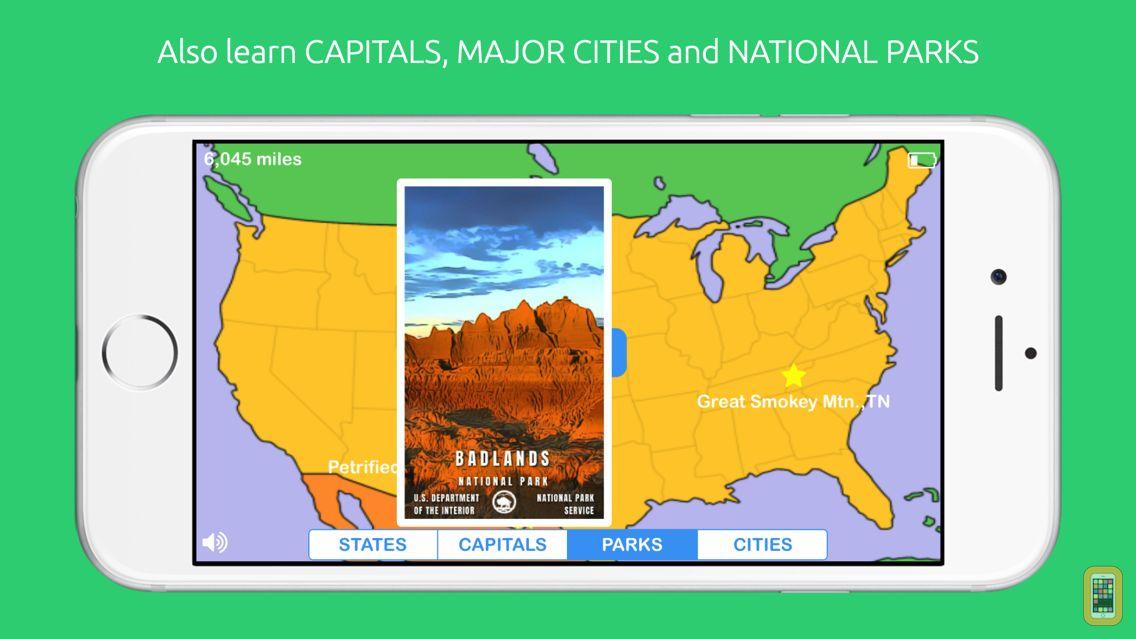 Screenshot - PopGeo USA Geography