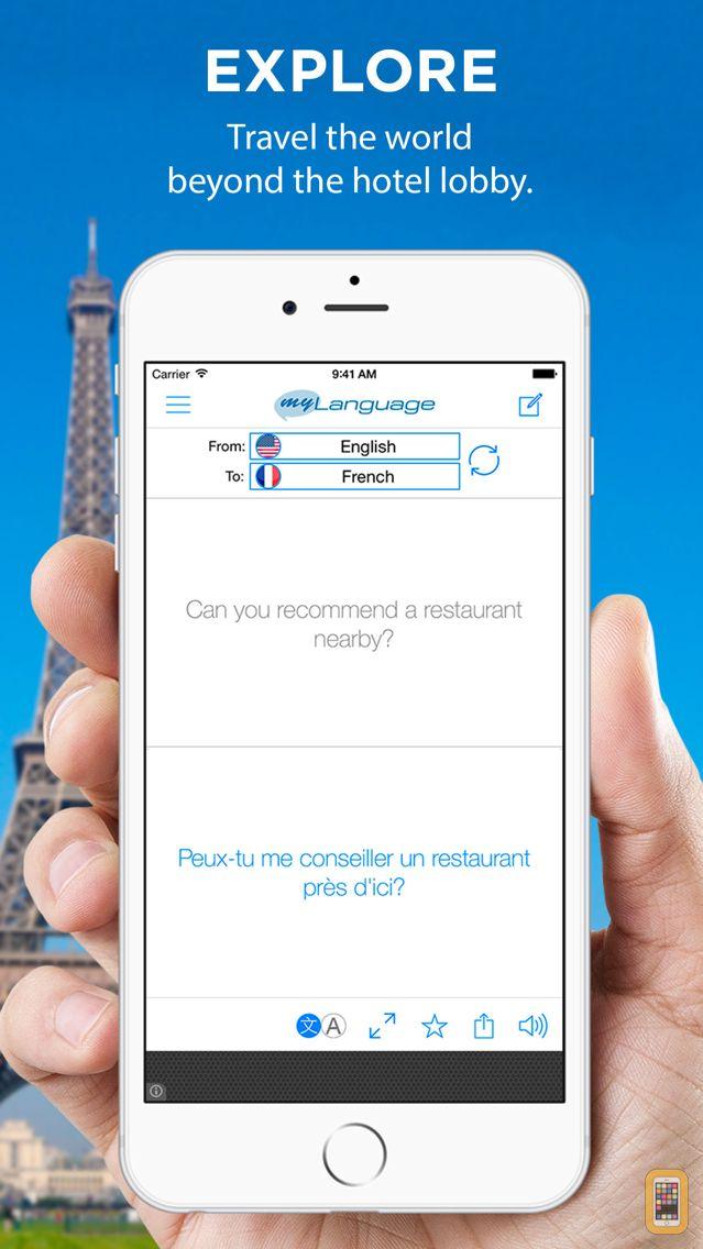 Screenshot - Translate Free - Language Translator & Dictionary
