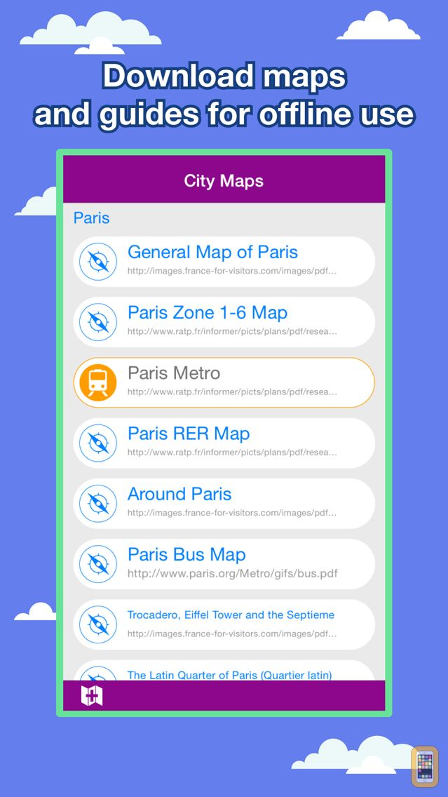 Screenshot - Paris City Maps - Discover PAR with Metro & Bus