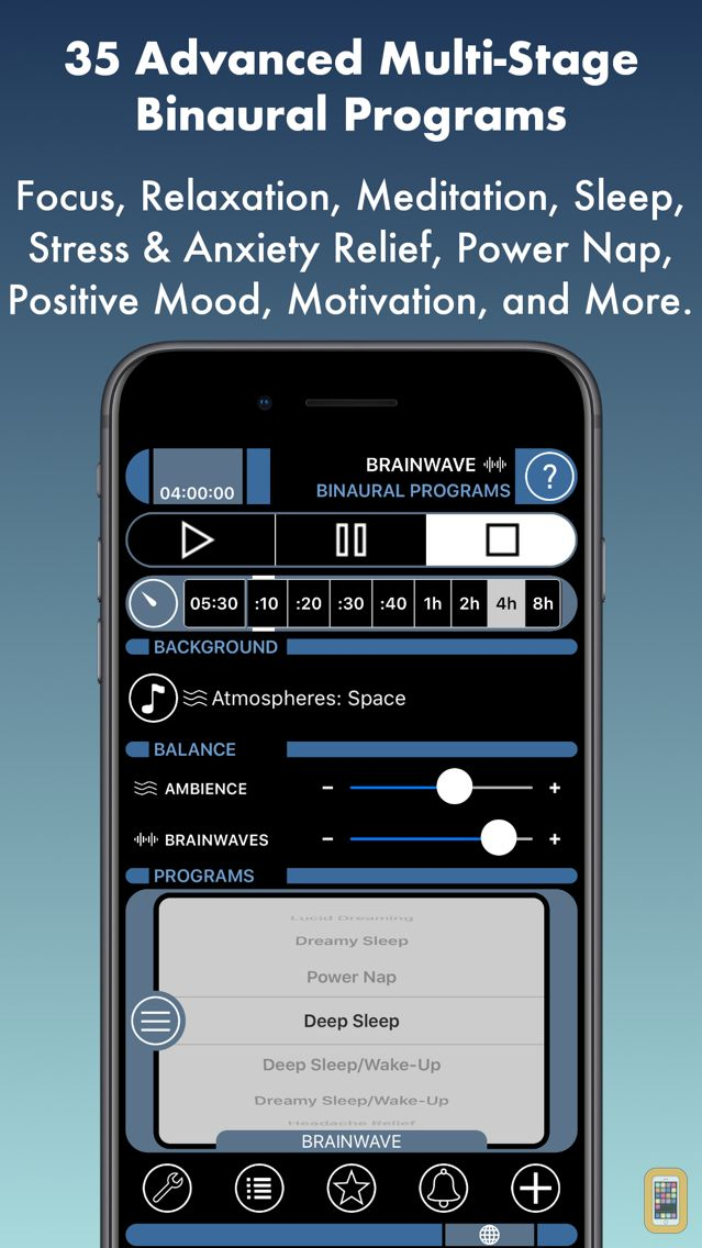 Screenshot - Brain Wave™ 35 Binaural Series