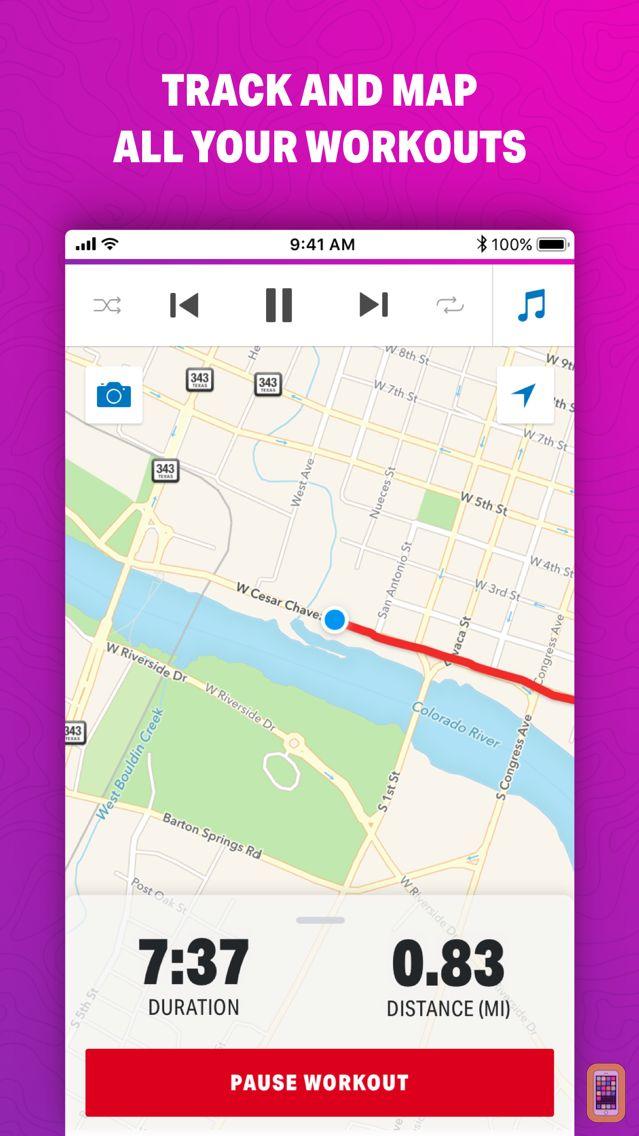 Screenshot - Map My Walk by Under Armour