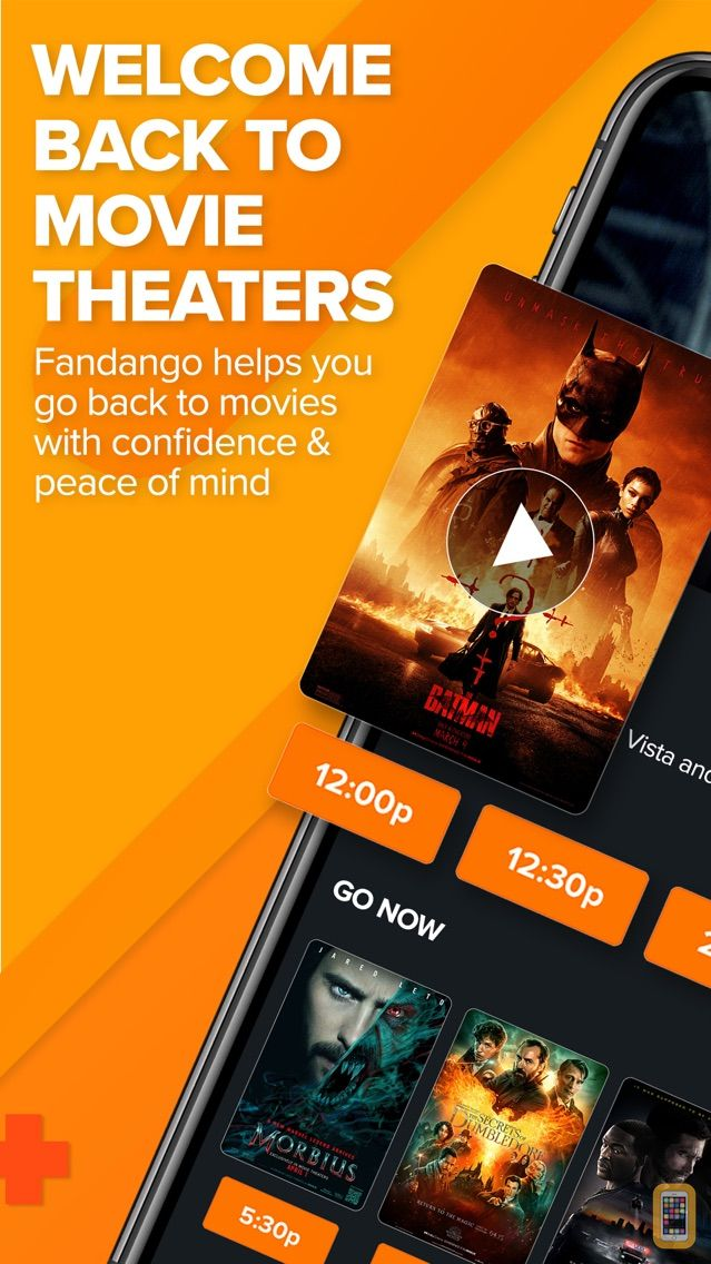 Screenshot - Fandango Movie Tickets & Times
