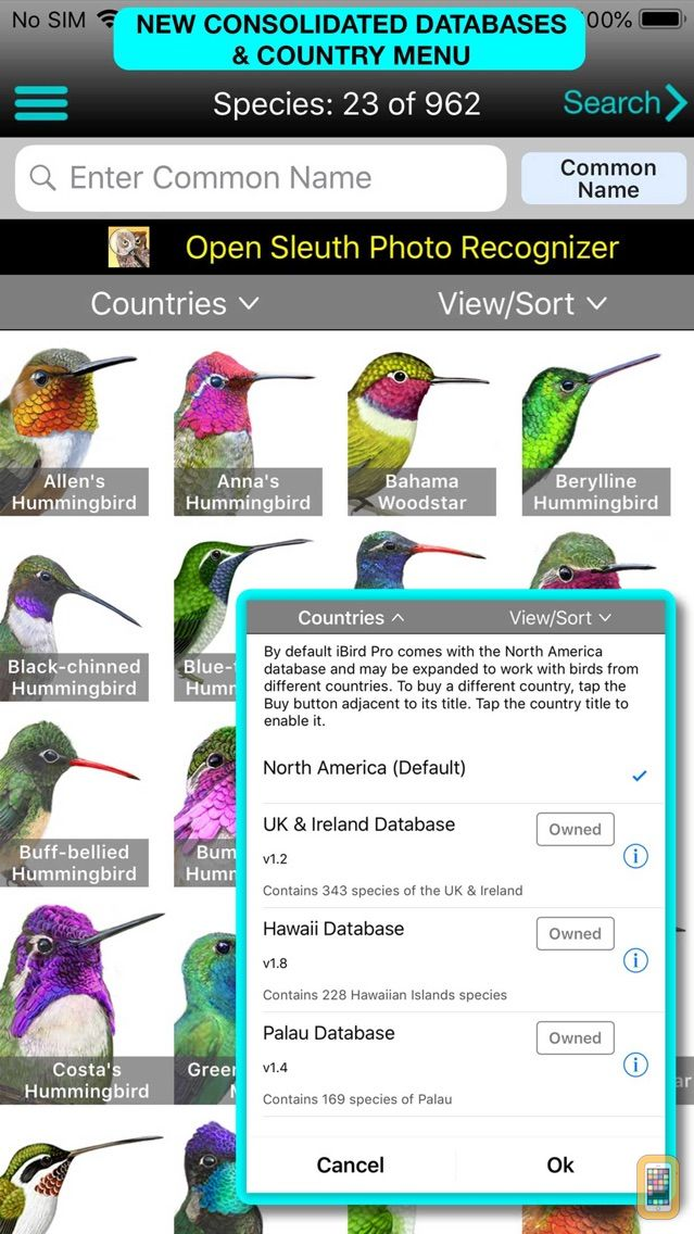 Screenshot - iBird Pro Guide to Birds