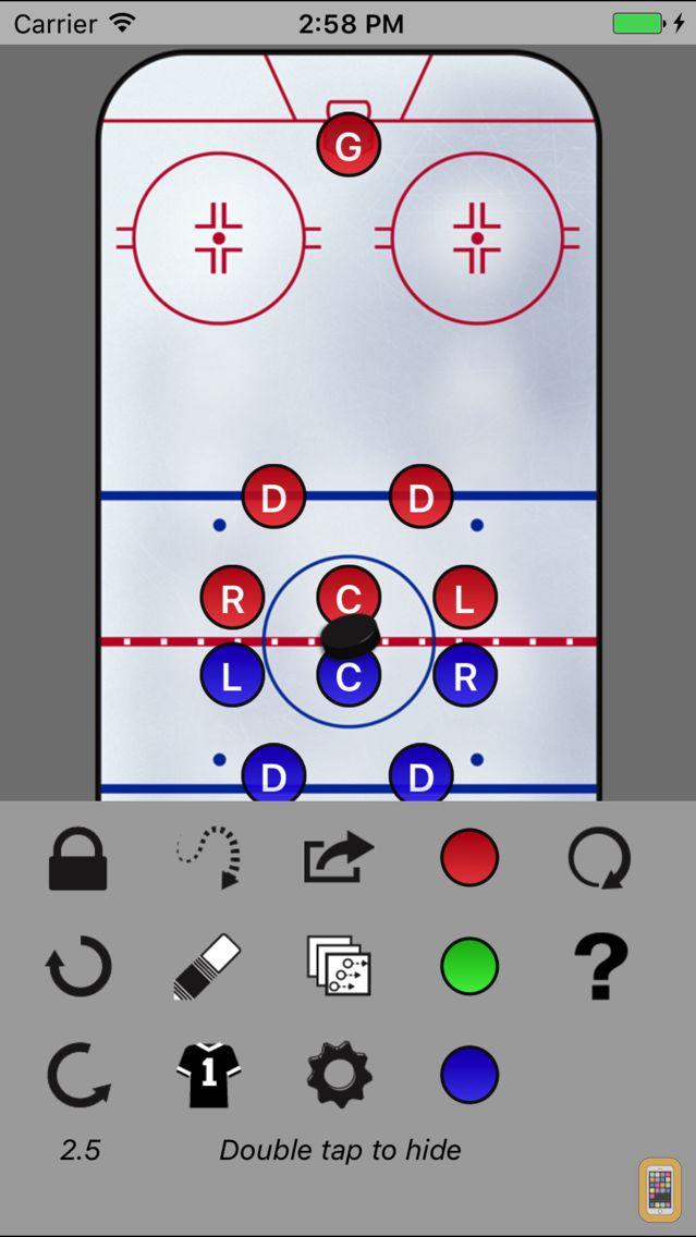 Screenshot - Hockey WhiteBoard