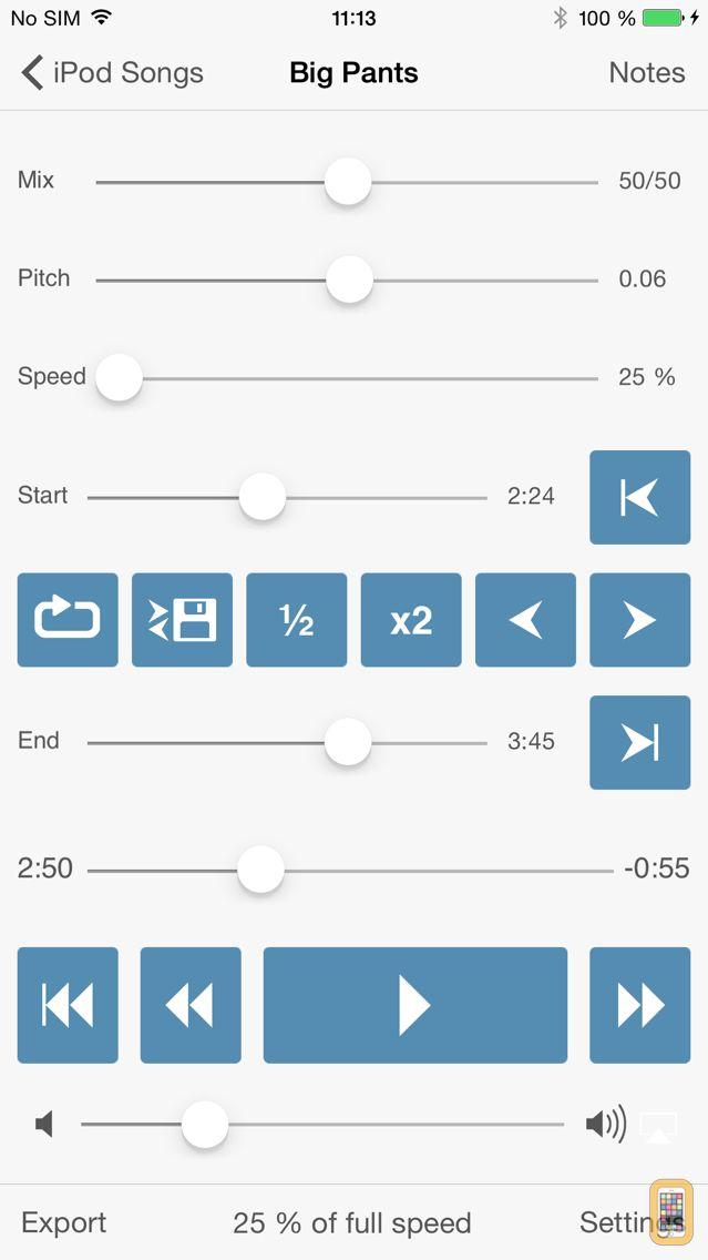 Screenshot - Amazing Slow Downer