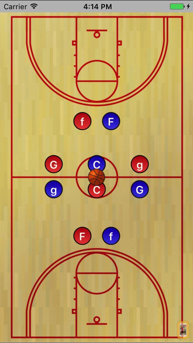 Screenshot - Basketball WhiteBoard