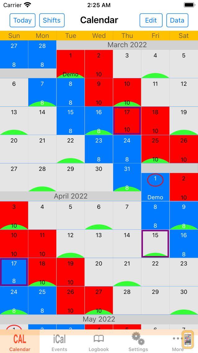 Screenshot - Scheduler
