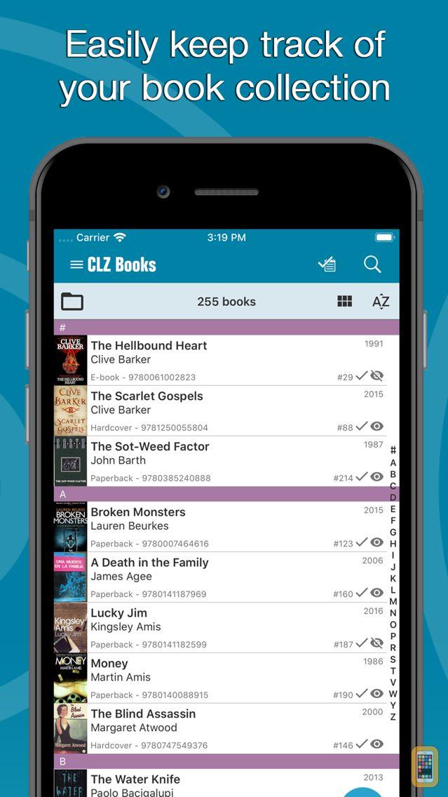 Screenshot - CLZ Books - Book Database