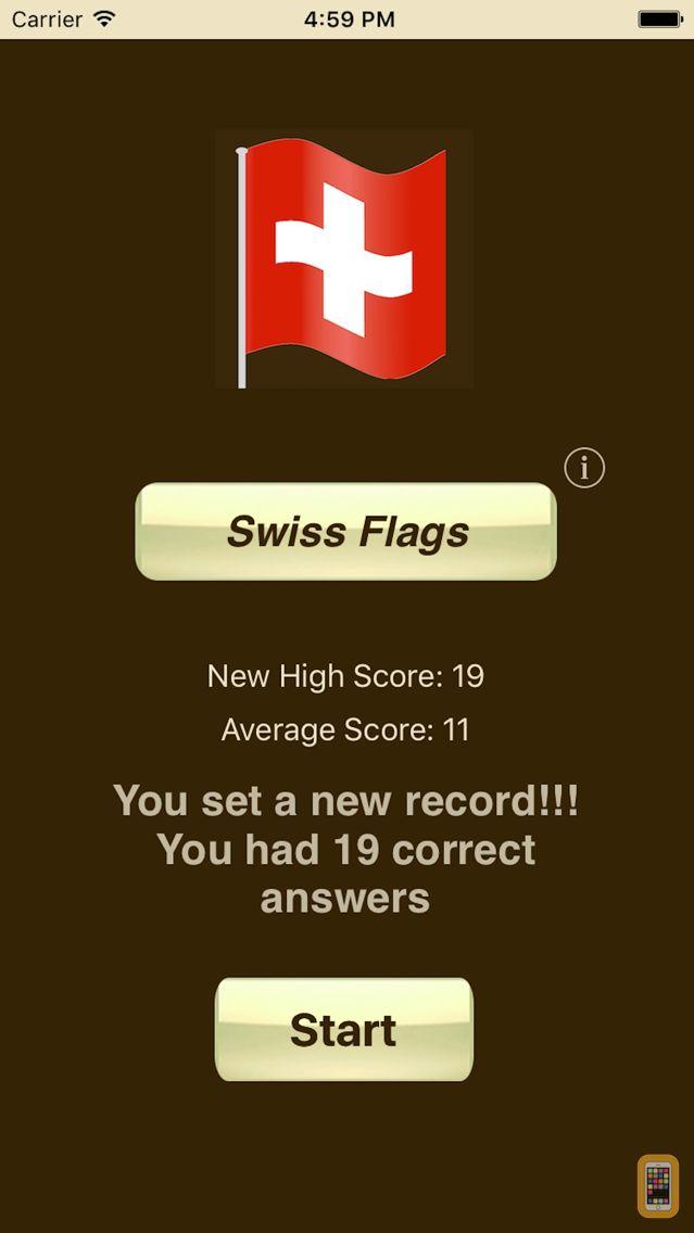 Screenshot - Swiss Flags