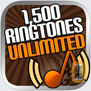 1500 Ringtones Unlimited - Download the best iPhone Ringtones by Mobgen Apps Inc (Universal)