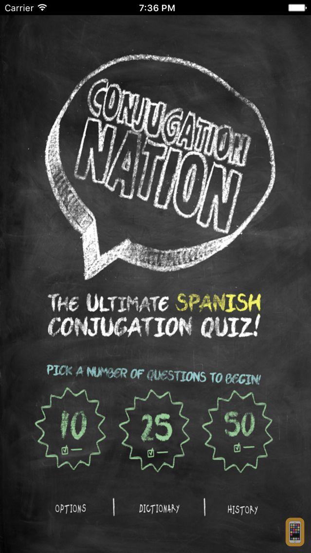 Screenshot - Conjugation Nation Spanish