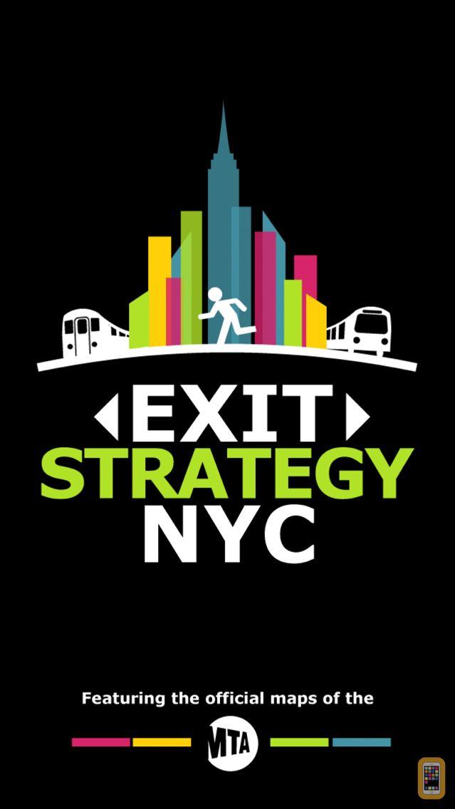 Screenshot - Exit Strategy NYC Subway Map