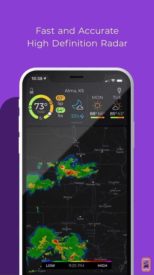 Screenshot - MyRadar NOAA Weather Radar