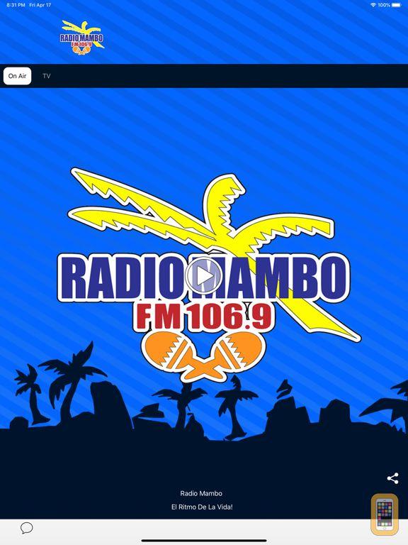 Screenshot - Radio Mambo