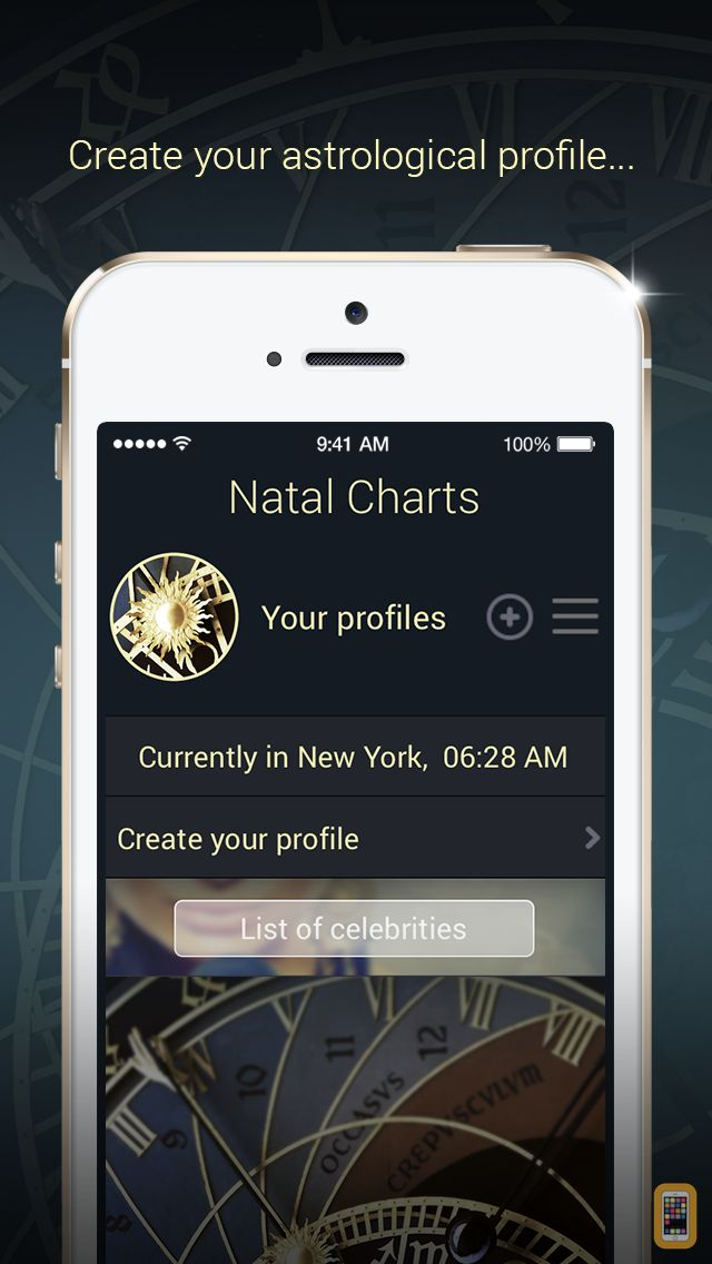 Screenshot - Natal Charts